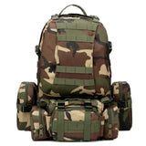 50L Multi functional Tactical Backpack