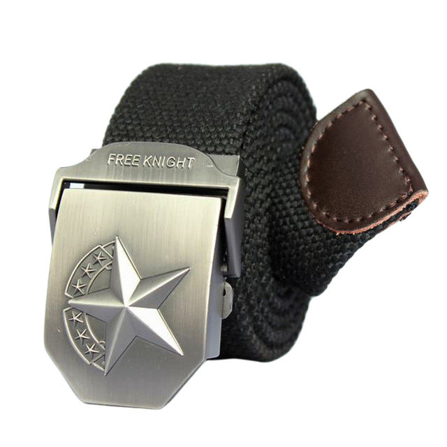 Pentagram Buckle Belt