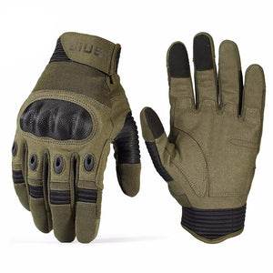 Tactical Ops Gloves - Soft Knuckle Touchscreen Compatible