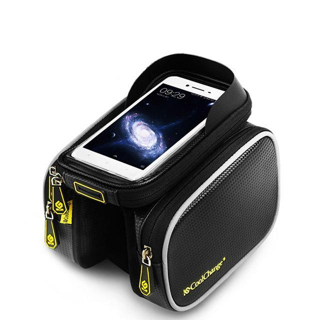 Cycling DoubleBag - CellPhone Touch Screen Bike Bag