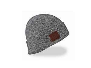 Trekker Beanie - Black Heather