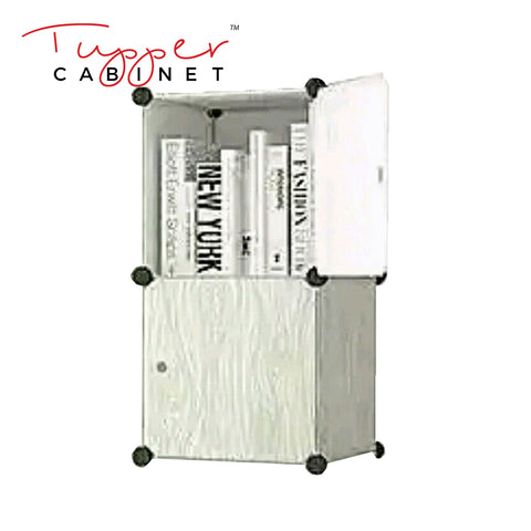 Tupper Cabinet Light Wood Storage Cabinet-Extra Large