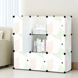 Tupper Cabinet Leaf Design Storage Cabinet