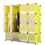 Tupper Cabinet Green Flower Wardrobe Organizer
