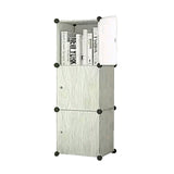 Tupper Cabinet Classic Light Wood Design Storage Cabinet