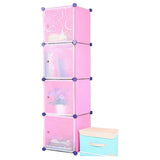 Tupper Cabinet Light Pink Storage Cabinet