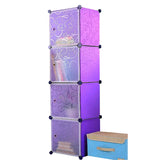 Tupper Cabinet Elegant Purple Stripes Storage Cabinet