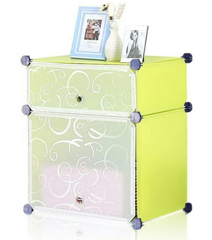 Tupper Cabinet Fruit Green DIY Nightstands