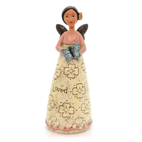 Kelly Rae Roberts - May Birthday Wish Angel Figure