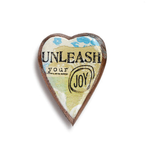 Kelly Rae Roberts Pin - Unleash Your Joy