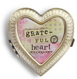 Kelly Rae Roberts Accessories - Grateful Heart Compact Mirror