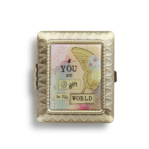 Kelly Rae Roberts Accessories - Gift to This World Rectangle Compact Mirror