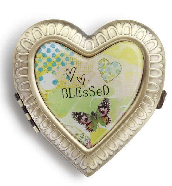 Kelly Rae Roberts Accessories - Blessed Compact Mirror
