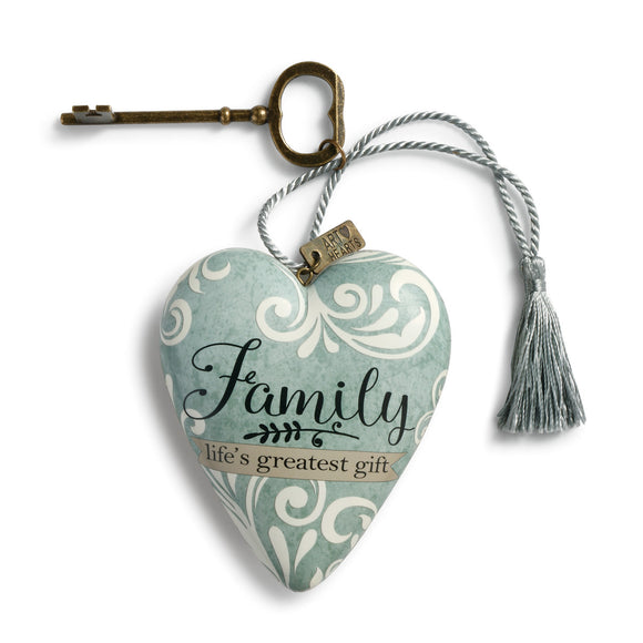 Demdaco - Family Life's Greatest Gift - Art Heart
