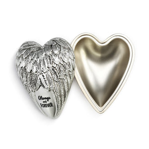 "DEMDACO Art Heart Keeper - 4cm/1.5"" Always and Forever"