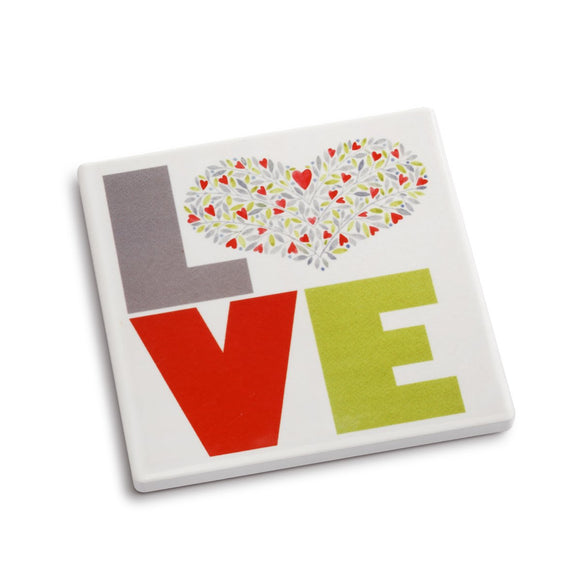 DEMDACO - Love Coaster and Greeting Card
