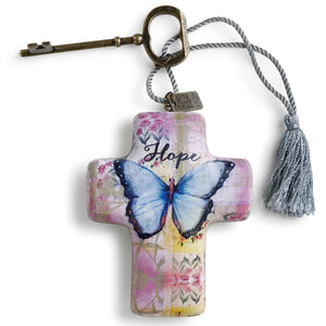 Demdaco- HOPE BUTTERFLY- ARTFUL CROSS
