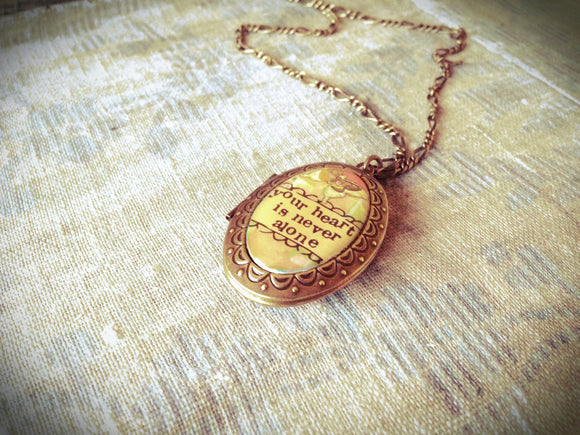 Kelly Rae Roberts Accessories - Never Alone Locket Necklace