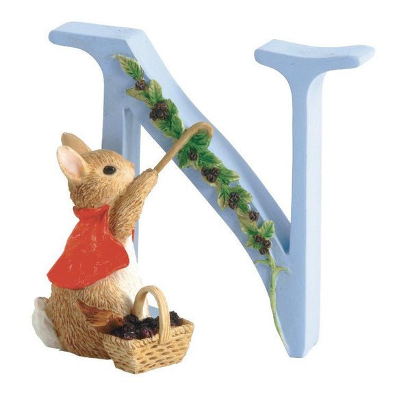 Beatrix Potter Alphabet Letter N – Cotton-tail