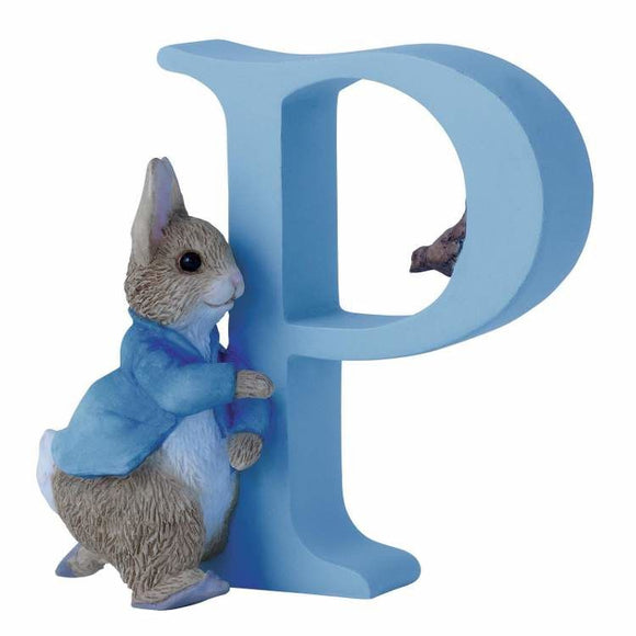 Beatrix Potter Alphabet Letter P – Running Peter Rabbit
