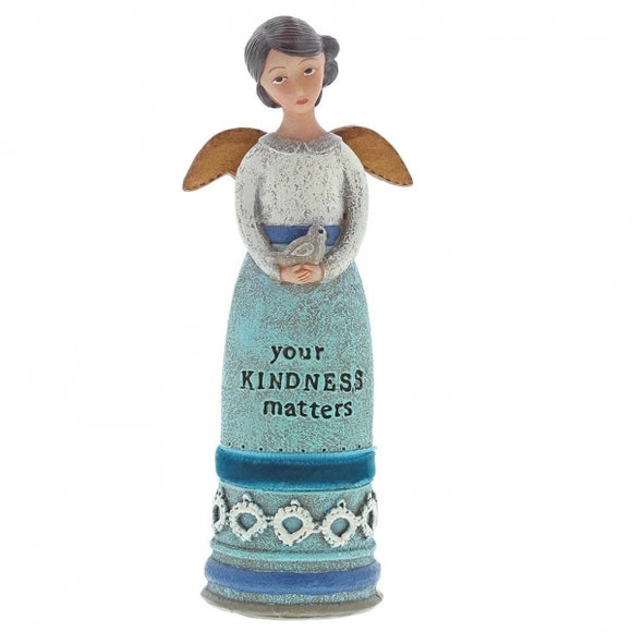 Kelly Rae Roberts - Your Kindness Matters Winged Inspiration Angel Figure