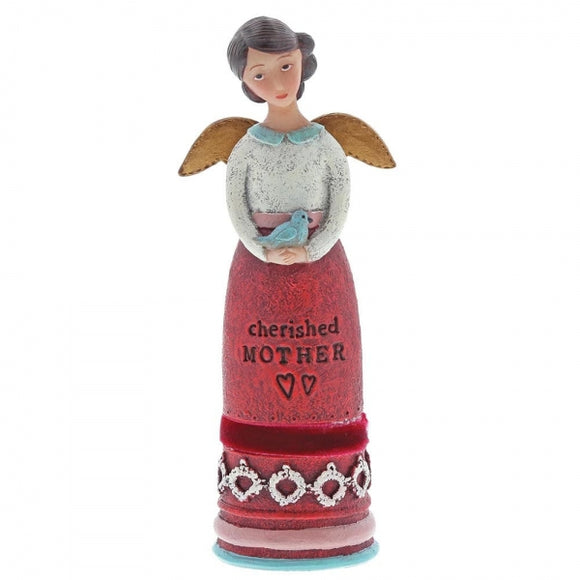 Kelly Rae Roberts - Cherished Mother Winged Inspiration Angel Figure