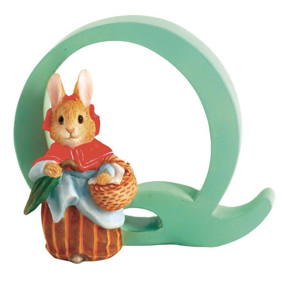 Beatrix Potter Alphabet Letter Q – Mrs. Rabbit