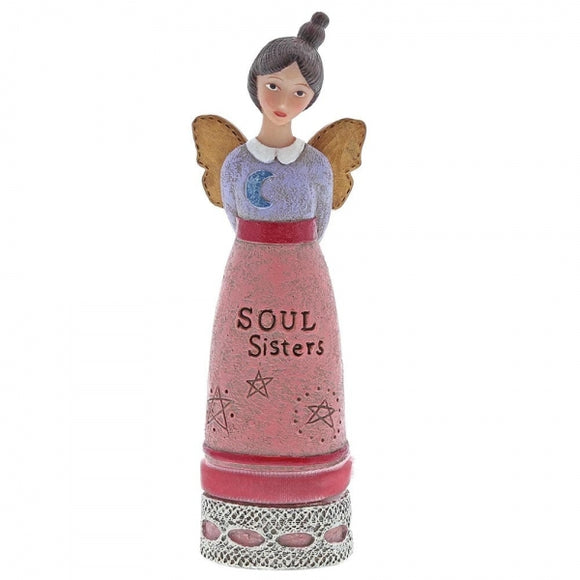 Kelly Rae Roberts - Soul Sisters Winged Inspiration Angel Figure