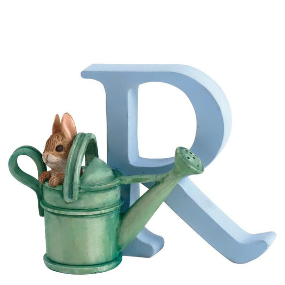 Beatrix Potter Alphabet Letter R – Peter Rabbit in Watering Can