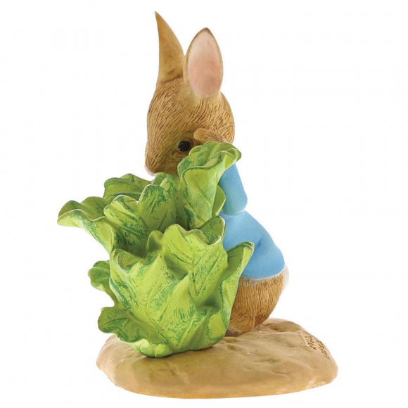 Beatrix Potter Mini Figurine Peter Rabbit with Lettuce