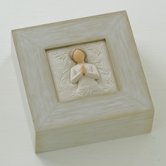 Willow Tree A tree, a prayer Memory Box - 26635