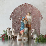 Willow Tree Sheltering Animals for The Holy Family - 27160
