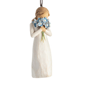 Willow Tree - Forget-me-not Ornament - 27911