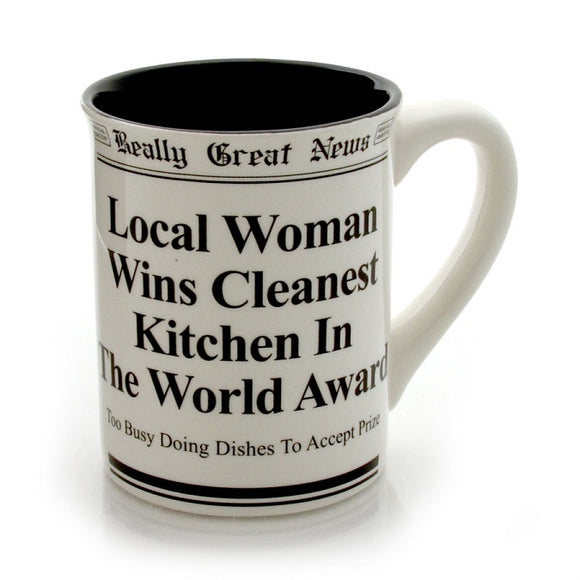 Really Great News - Cleanest Kitchen in the World Mug
