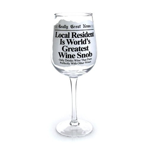 Really Great News - Wine Snob Wine Goblet