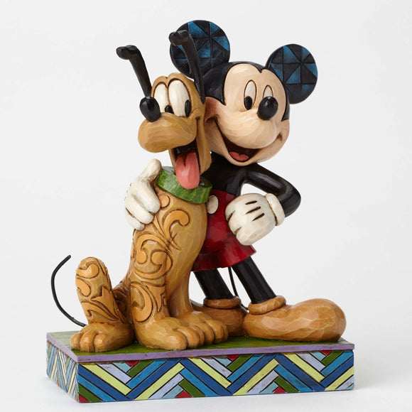 Disney Traditions - Mickey and Pluto Best Pals