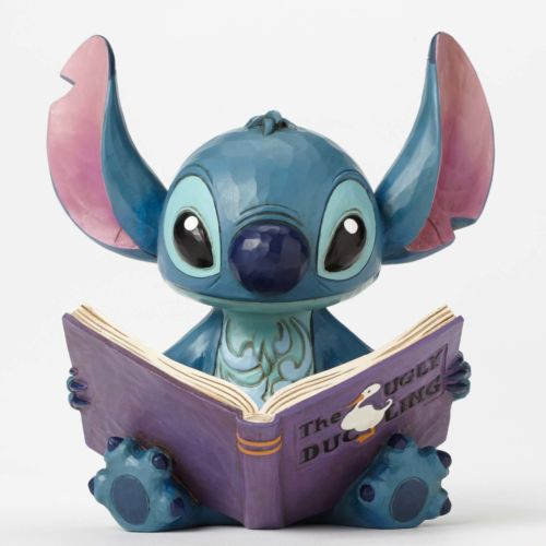 Disney Traditions -  Stitch with Story Book Figurine (H14.6)