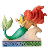 DISNEY TRADITIONS - ARIEL WITH FLOUNDER - FUN AND FRIENDS