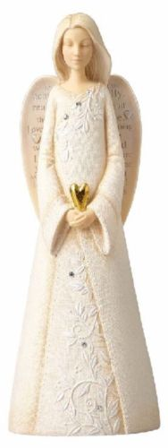Foundations Inspiration Joy Angel With Butterfly Figurine