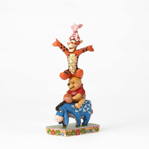 Disney Traditions - Winnie the Pooh Eeyore Tigger & Piglet Figurine