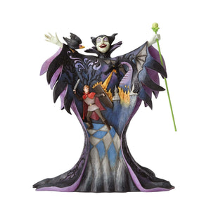 Disney Traditions - Maleficent with Scene (H 22.2cm)