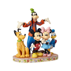 Disney Traditions - The Fab Five - The Gang's All Here (H 22.9 cm)