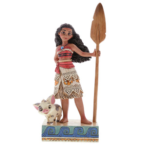"Disney Traditions - 17cm/6.75"" Moana, Find Your Own Way"