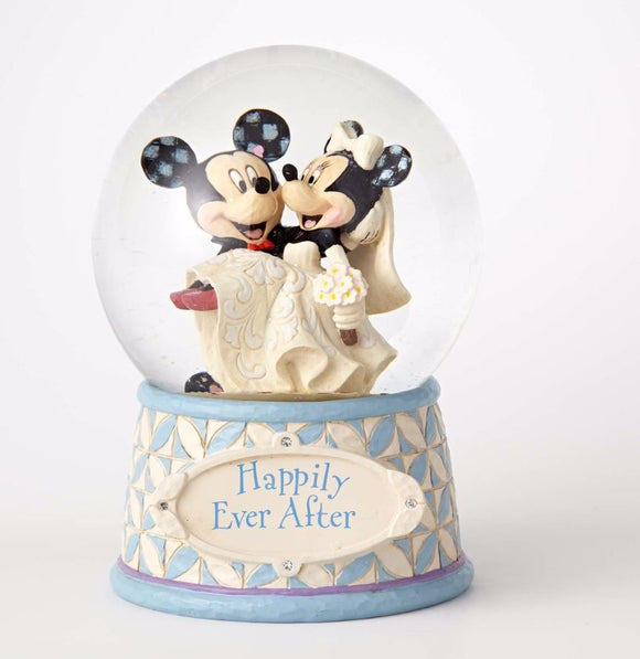 Disney Traditions - Mickey and Minnie Happily Ever After Water Ball