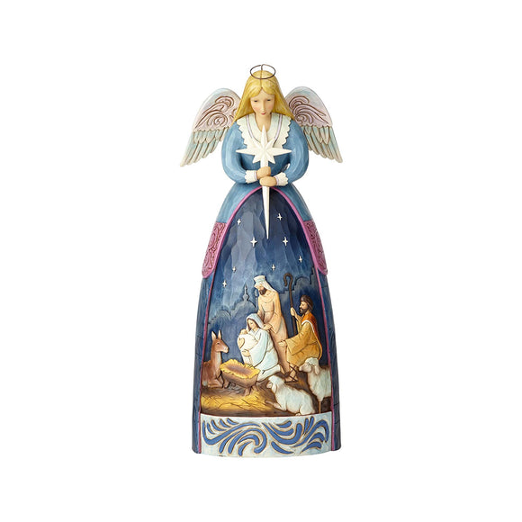 Heartwood Creek Nativity - Nativity Angel Statue