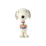 "Peanuts by Jim Shore - 7.6cm/3"" Snoopy Birthday"