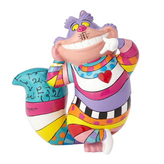 Britto Disney - MINI FIGURINE CHESHIRE CAT STANDING