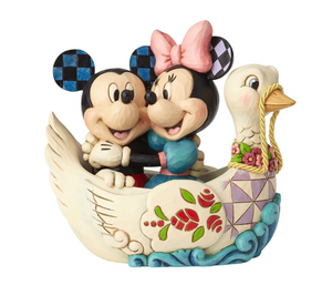 Disney Traditions - Mickey & Minnie in Swan