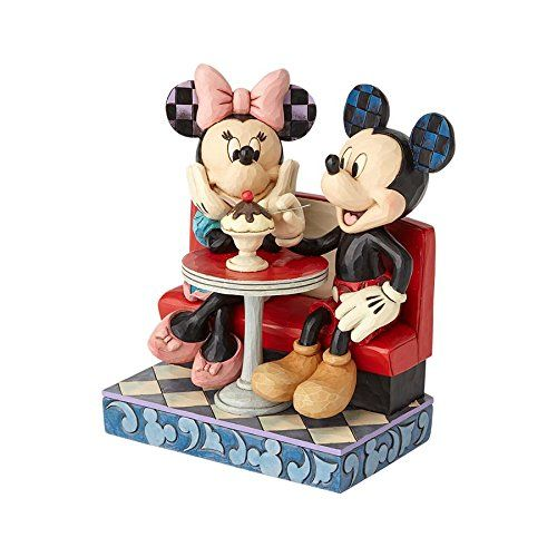 Disney Traditions - Mickey and Minnie Mouse In Soda Shop