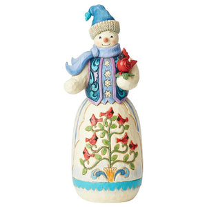 "Heartwood Creek - 50cm/20"" Snowman Statue"